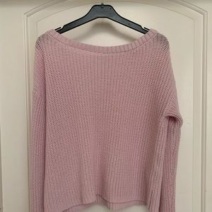 Garage Pink Long Sleeve Sweater Top